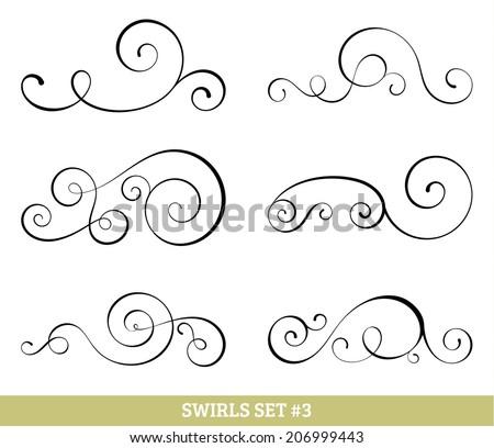 Simple Swirl Design Vector