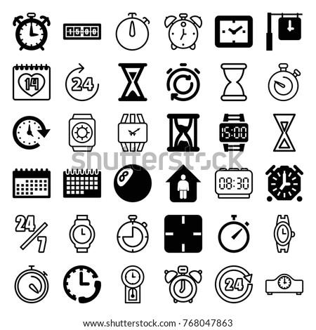 Shirt Icons Set Set 16 Shirt Stock Vector 642836128