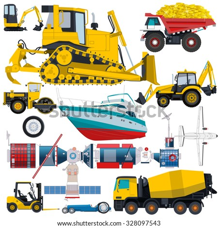 Bulldozer Banners Beauty Product Banners