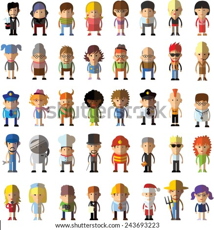 Illustration jobs world stock vector 99886475 shutterstock for Character designer job