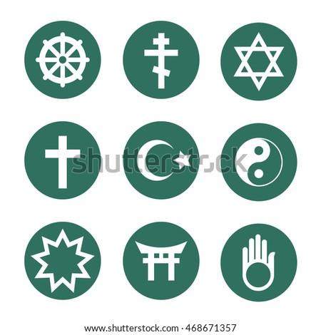 Major World Religions Symbols