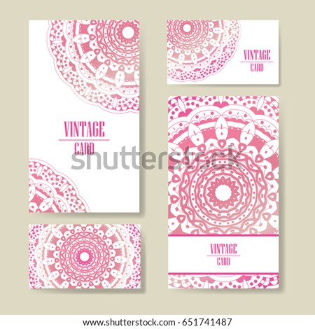 Set wedding invitations wedding cards template stock vector set of wedding invitations wedding cards template with individual concept design for invitation stopboris Images