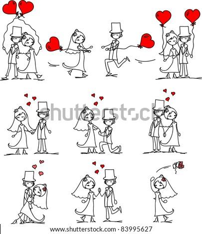 Marry Marriage Bride Bridegroom 44