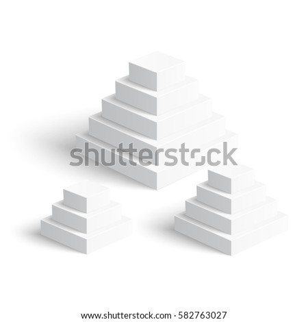 all basic 3d shapes template realistic stock vector 506749759