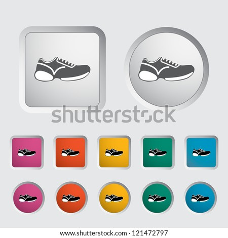 Walking shoes Stock Photos, Illustrations, and Vector Art