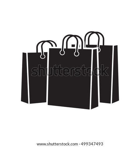 Recycled Paper Shopping Bag Vector Stock Vector 84918400 ...