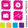 Shopping icon set-4 - stock vector