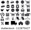 Shopping icon. Vector EPS8 - stock vector