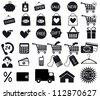 Shopping icon. Vector EPS8 - stock photo