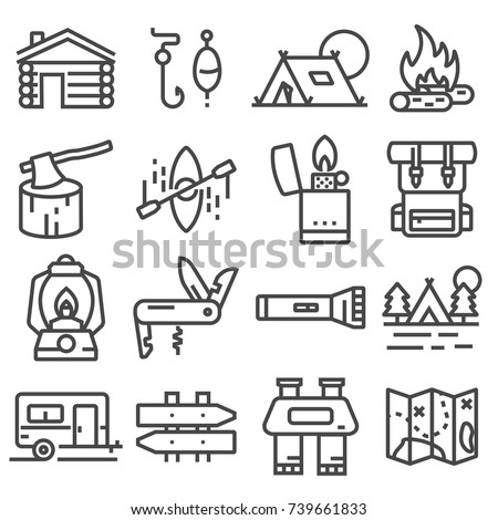 Set Dog Sport Icons Drawing Black Stock Vector 483960652