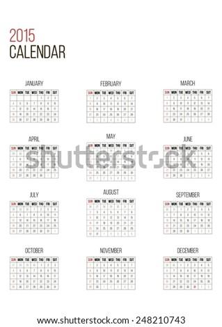 november 2014 calendar editable calendar 2014 spanish stock vector 135315275 shutterstock