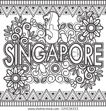 Adult Colouring Book Singapore
