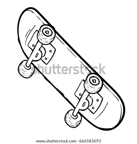 Stock Vector Axe And Wood Cartoon Vector And Illustration Black And White Hand Drawn Sketch Style Isolated