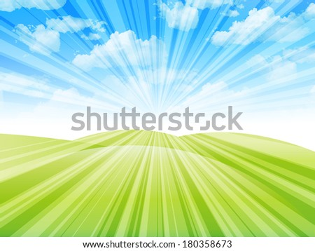 Sky landscape background