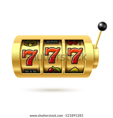 Slot machine with lucky sevens jackpot