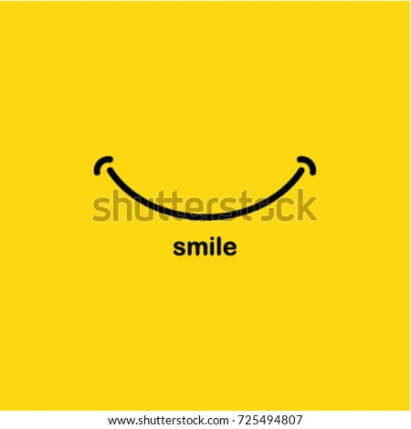 Smiley icon red tongue concept grin stock vector 353373362 shutterstock for Smile templates