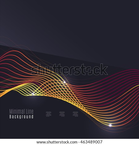 dark tech the effect of the Abstract vector: bluish tech effect on dark background for poster brochure, flyer  template for company business presentation, magazine cover annual report.