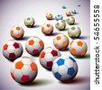 Soccer Balls - stock photo