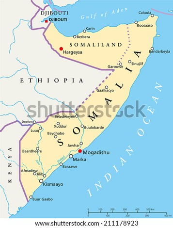 Kenya Political Map Political Map Kenya Stock Vector - Map of texas cities and rivers