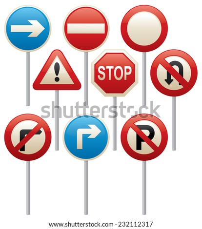 Set Road Signs Isolated On Transparent Stock Vector. Misunderstanding Signs Of Stroke. Farm Animal Signs. Cause Signs. 25 December Signs Of Stroke. February 6th Signs Of Stroke. Village Signs. Steel Signs Of Stroke. Ohio State Signs