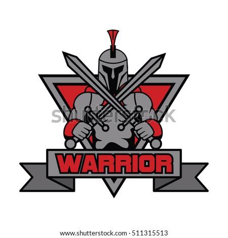 Spartan Team Logo Stock Vector 549730402 Shutterstock