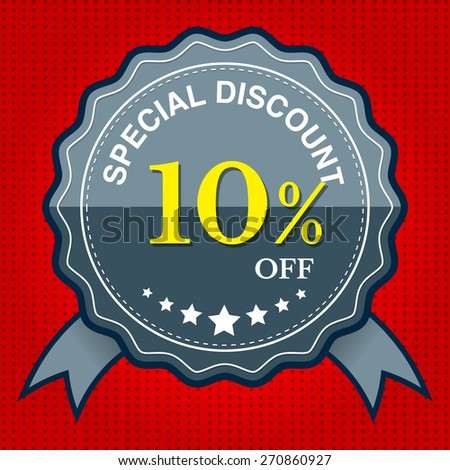 Special Discount 10% Off