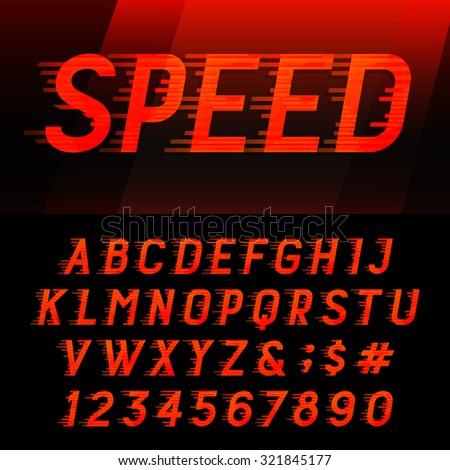 Alphabet Writing Speed