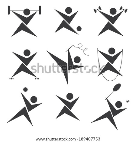 One caucasian woman exercising rhythmic gymnastics with ribbon in - Gymnastics Silhouette Stock Photos Images Amp Pictures