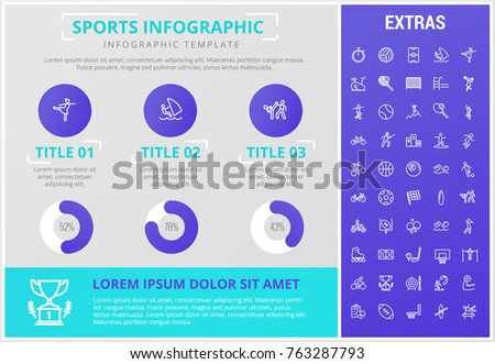 Set colourful animals wearing uniform using stock vector for Sports infographics templates