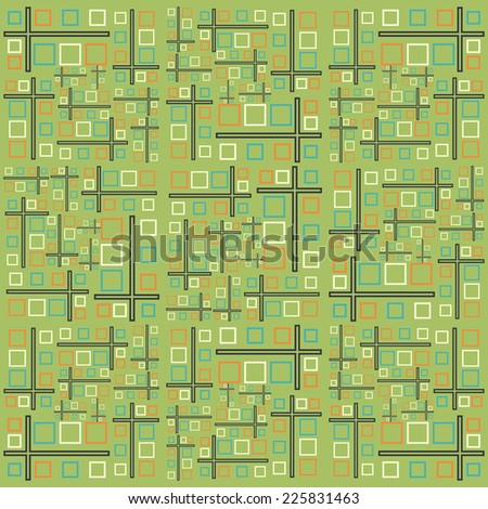 Square abstract background, Vector background EPS 10