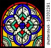 stained-glass - stock photo