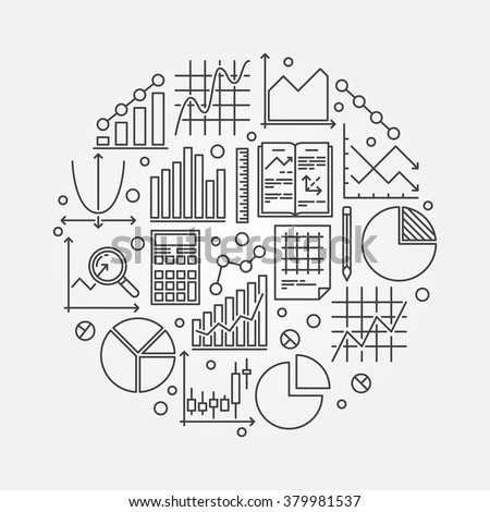 vector computer tablet pc drawing business stock vector