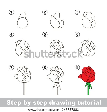 how to draw karate kid step by step