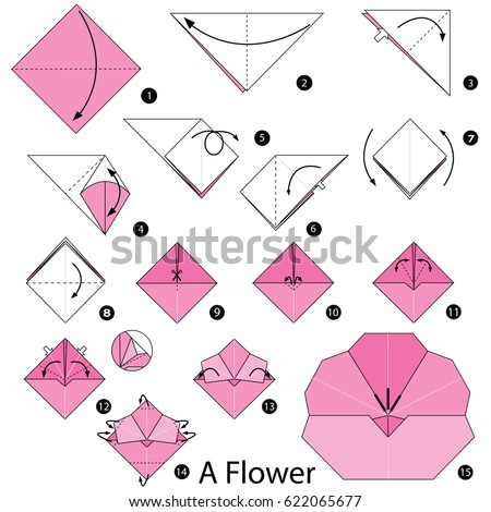 step by step instructions how make stock vector 383312824