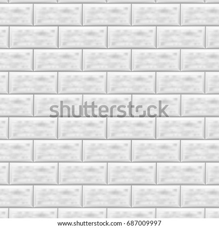Subway Pattern stone lined granite stone background wall stock vector 687754132