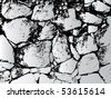 Stone wall vector - stock photo