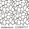 Stones seamless pattern, vector - stock photo
