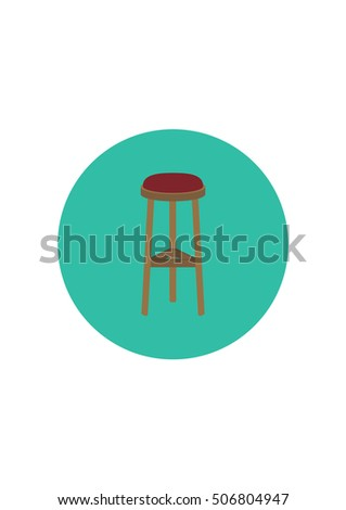 Stool Stock Vector 449709904 Shutterstock