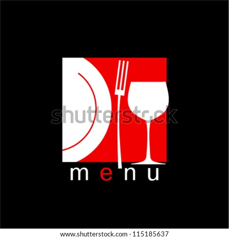 Stylish Restaurant Menu Card Design template.