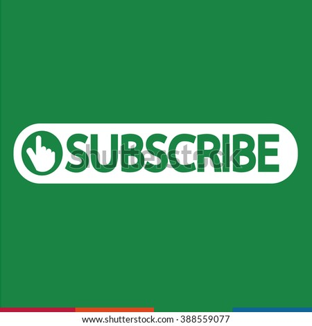 Subscribe icon symbol Illustration design