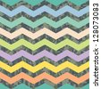 Summer Going Fall Seamless Chevron Background Pattern - stock