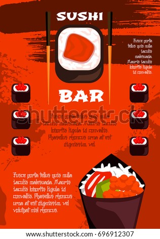 National soup month vector illustration stock vector for Asia sushi bar and asian cuisine mashpee