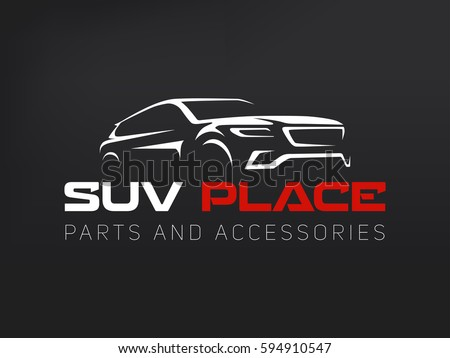 Set Classic Muscle Car Emblems Logo Stock Vector 311016539