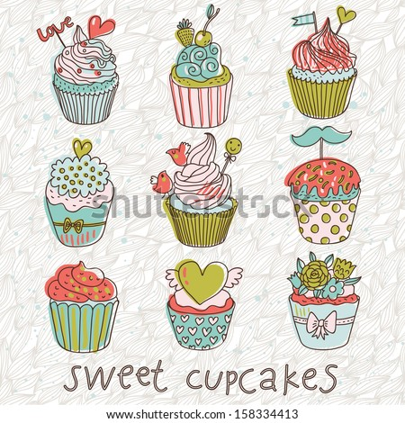 Cupcake Stock Photos, Cupcake Stock Photography, Cupcake Stock