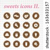 sweets icon 2. - stock vector