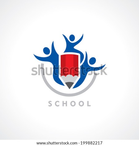 symbol of school vector
