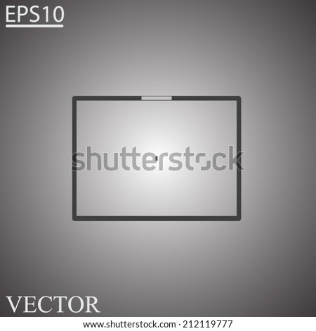 tablet - vector icon