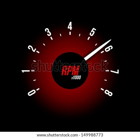 Tachometers Stock Photos  Illustrations  and Vector ArtTachometer Logo