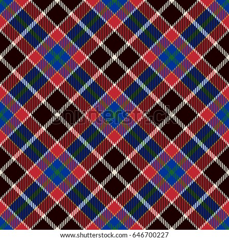Tartan seamless pattern background red black stock vector for Red black and white flannel shirt