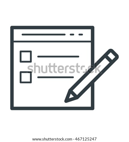 Task List Vector Icon Stock Vector   Shutterstock